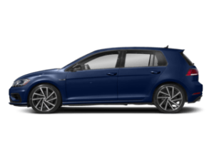 VW Golf R sideview