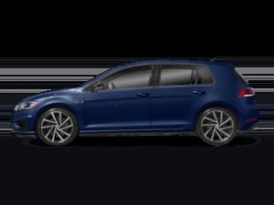 VW Golf R sideview