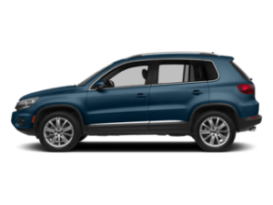 VW Tiguan Limited sideview