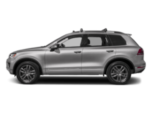 VW Touareg sideview