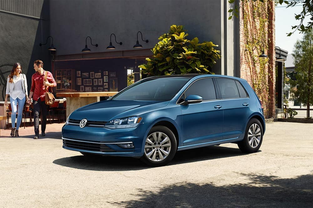 2018 Volkswagen Golf parked