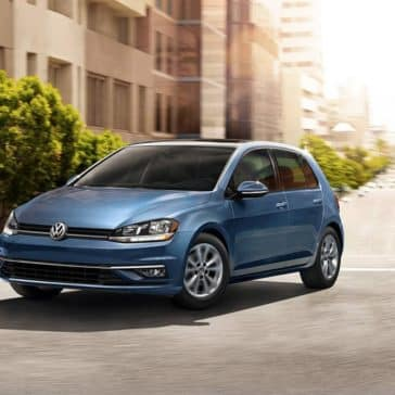 2018 Volkswagen Golf in city