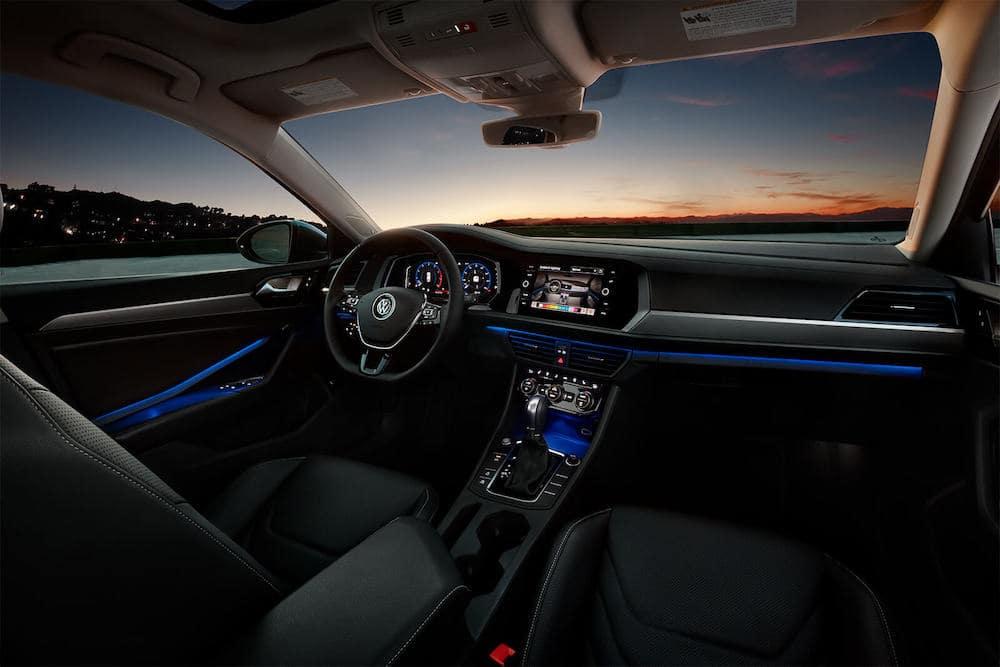 2019 Volkswagen Jetta Interior front view