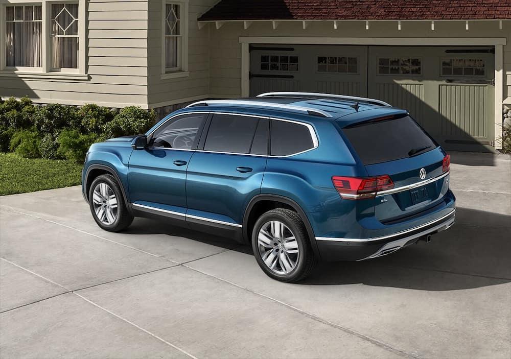2019 Volkswagen Atlas in Driveway