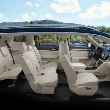 2019 VW Atlas Seating