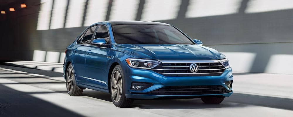 2019 Volkswagen Jetta in blue