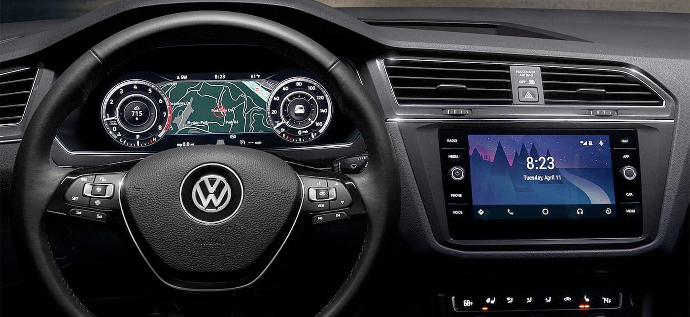 2019 Volkswagen Tiguan with digital cockpit