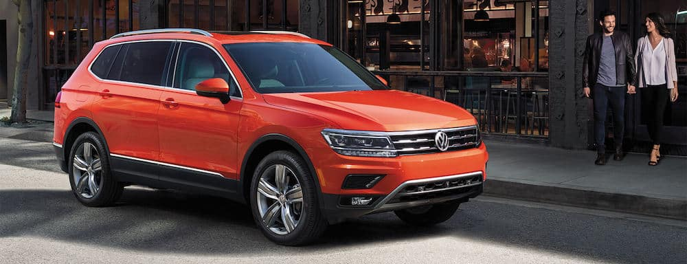 2019 Volkswagen Tiguan in the city