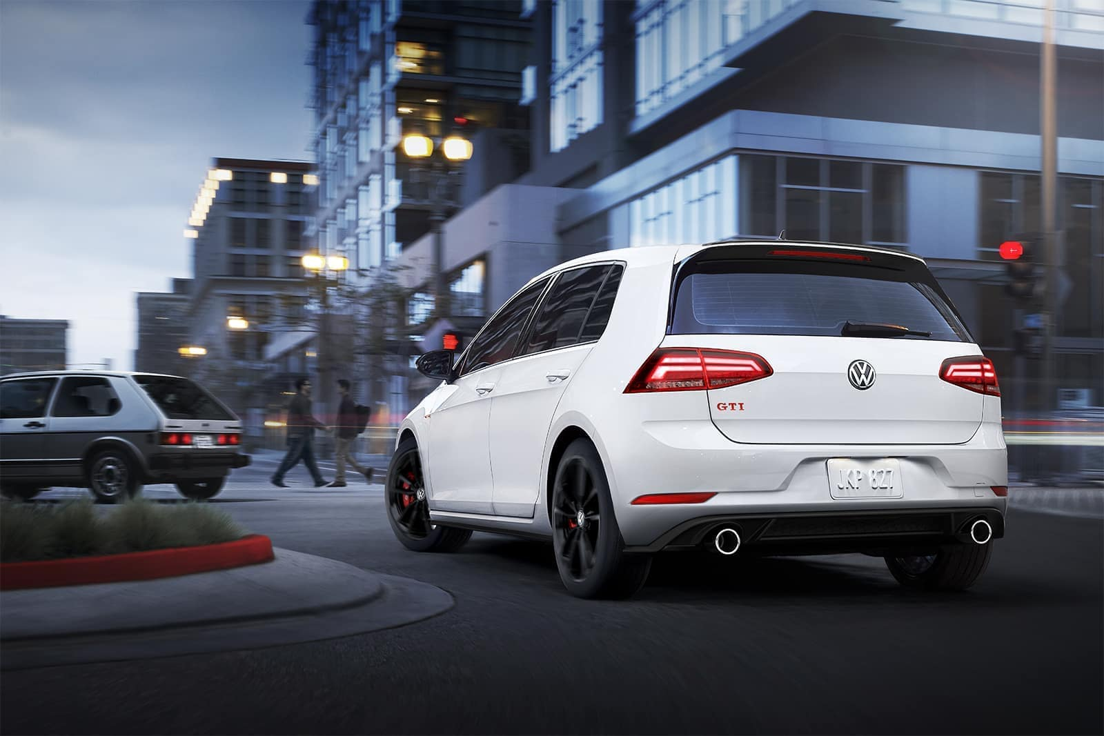 2019 VW Golf GTI Rear