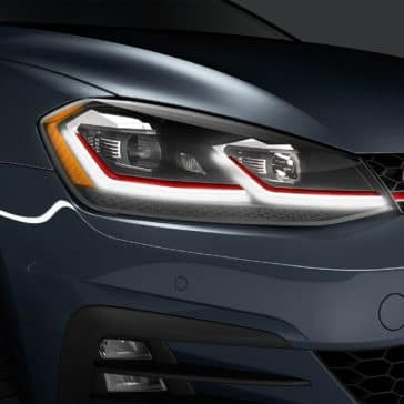 2019 VW Golf GTI Headlight