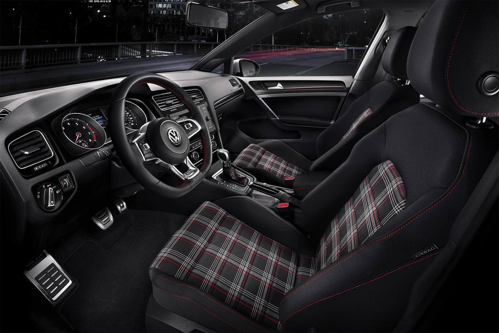 2019 VW Golf GTI Seating