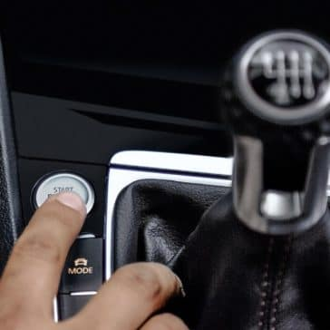 2019 VW Golf GTI Shifter