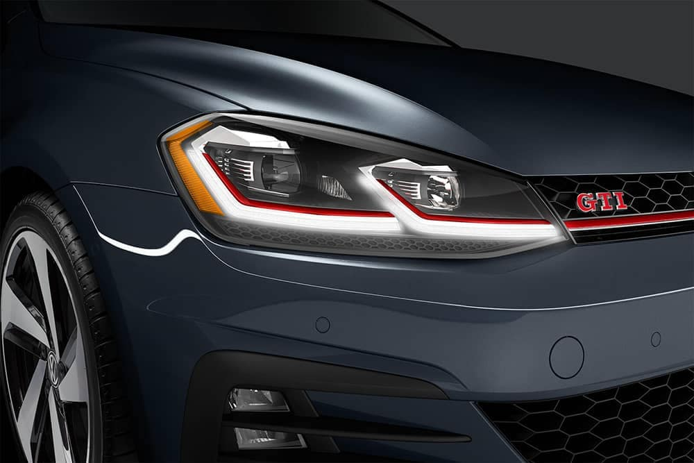 2020 VW Golf GTI Headlight