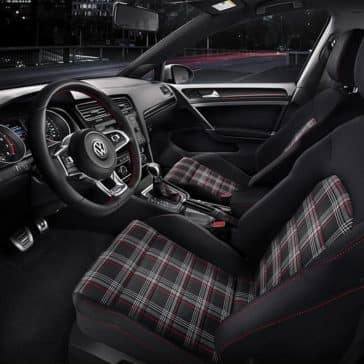 2020 VW Golf GTI Seating
