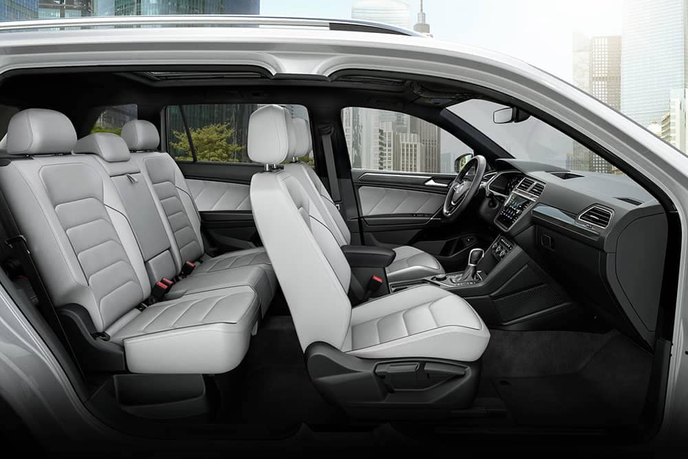 2020 VW Tiguan Seating