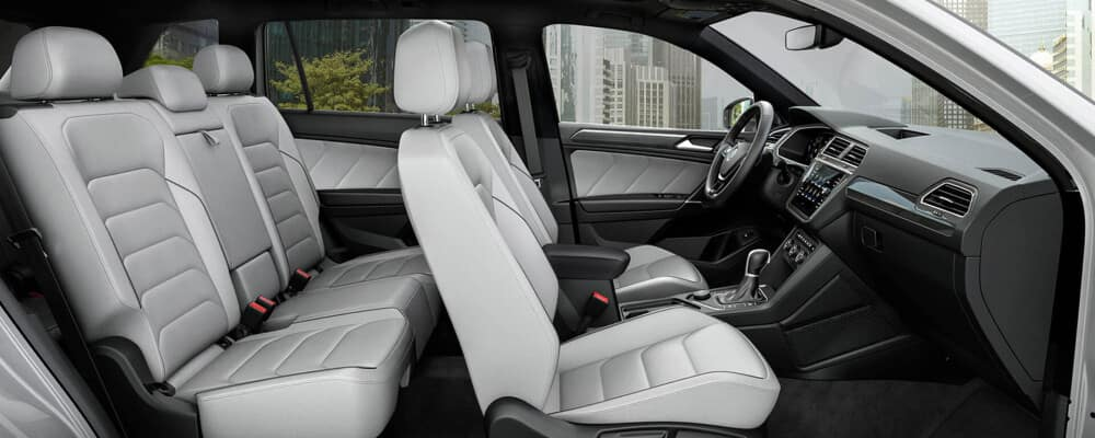 2020 Volkswagen Tiguan cross section interior