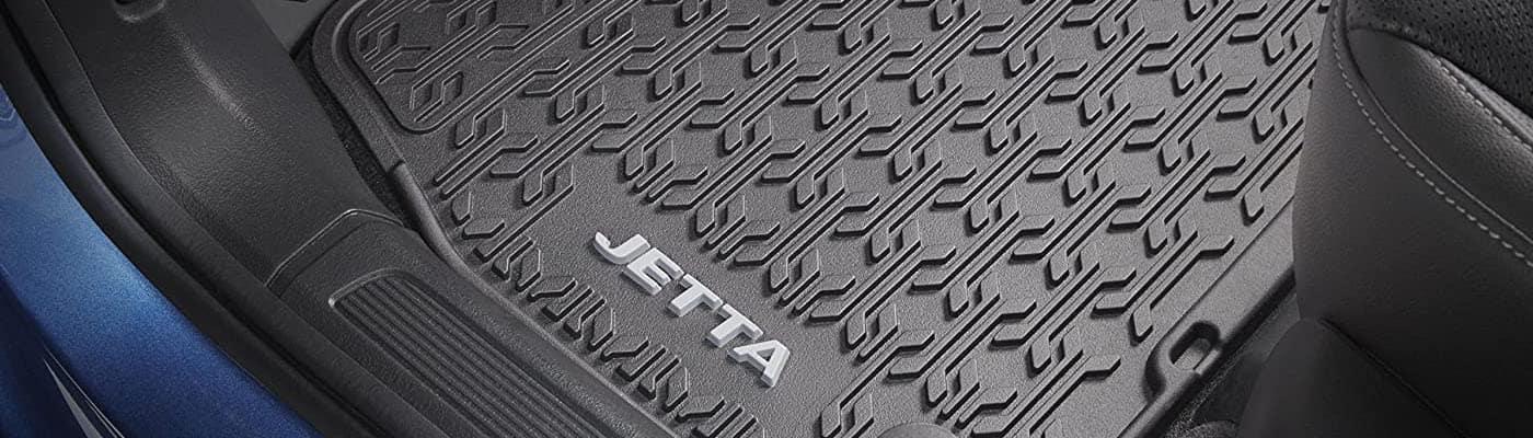 Volkswagen Jetta rubber floor mats