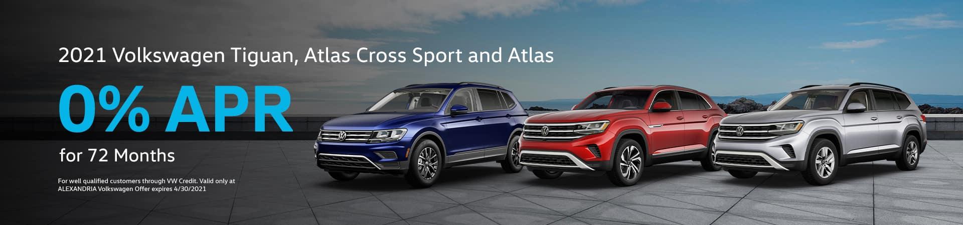 2021 Volkswagen Tiguan, Atlas Cross Sport and Atlas
