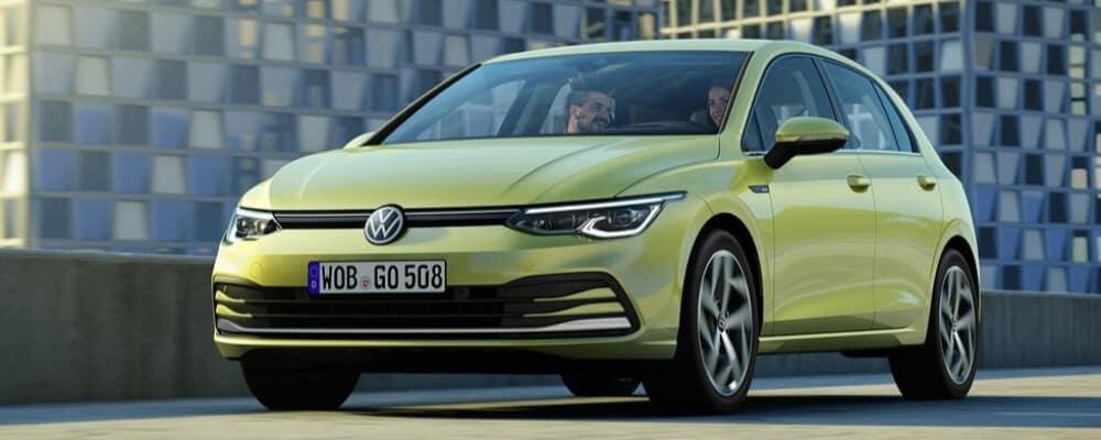 2021 Volkswagen Golf top parking garage