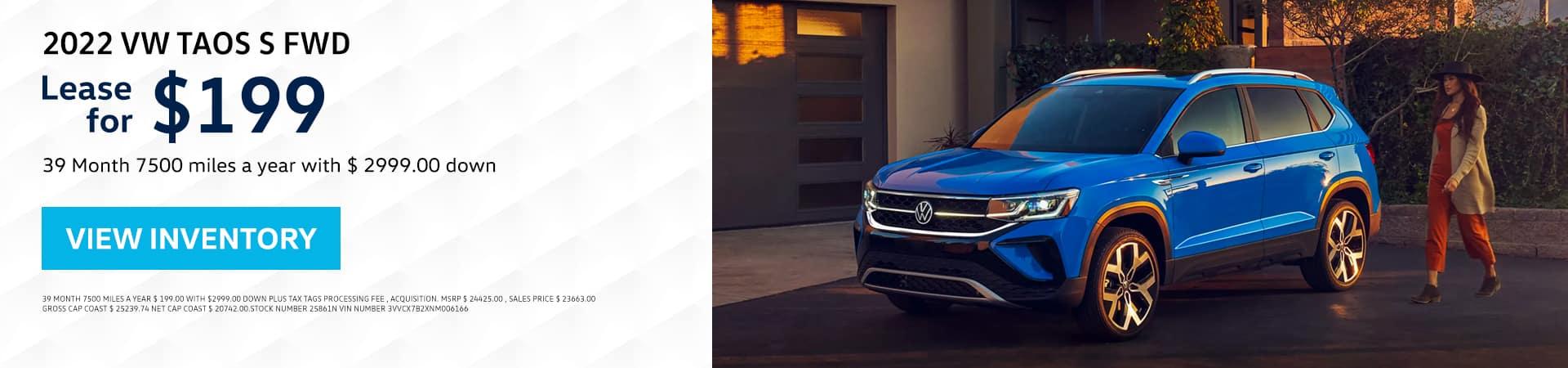 2022 VW Taos