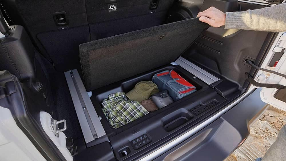 2019 Jeep Wrangler Storage