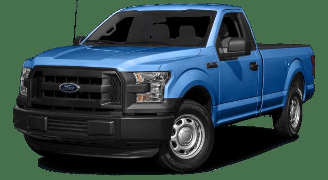 2016 Ford F-150 Blue