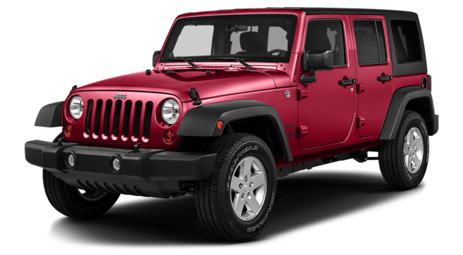 2016 Jeep Wrangler Red