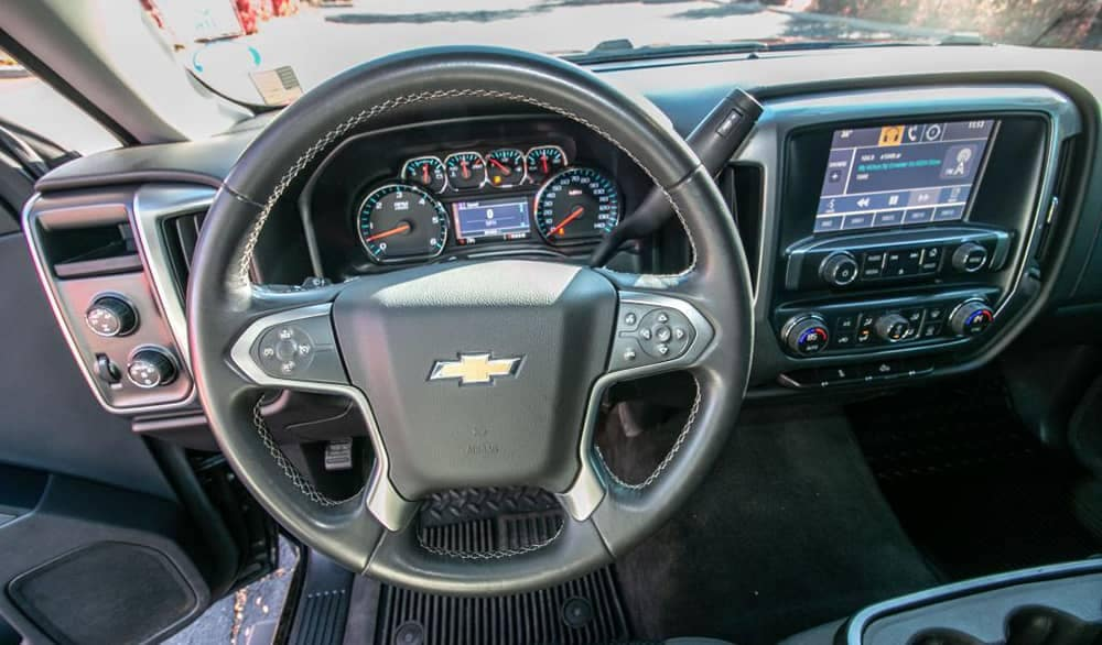 Used Chevy Silverado 1500 Interior