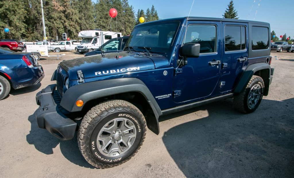 Used Jeep Wrangler Blue