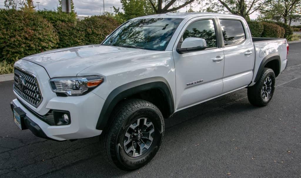 Used Toyota Tacoma White