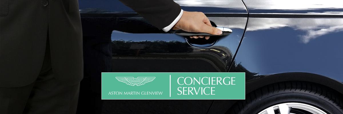 Aston Martin of Glenview Concierge Service