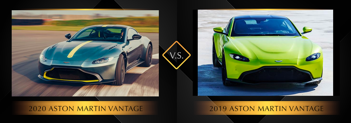 2020 Aston Martin Vantage vs 2019 Aston Martin Vantage Chicago IL