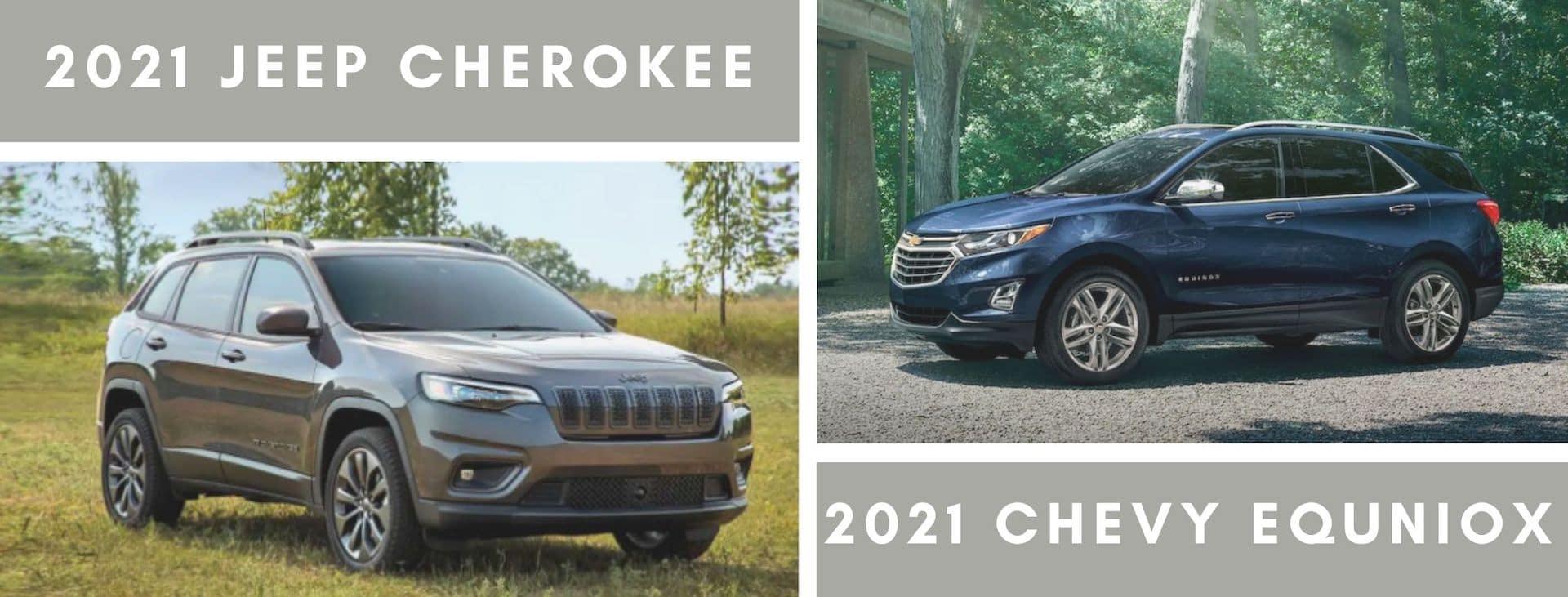 Jeep cherokee comparison photo
