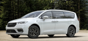 The adventurous off-road vehicle the Chrysler Pacifica