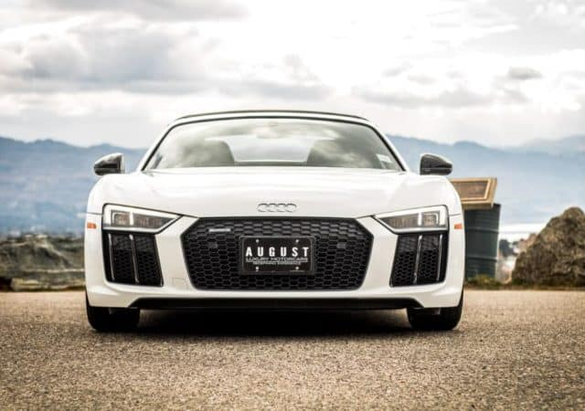 Audi R8 Spyder Fall Cruise in Kelowna with August Motorcars