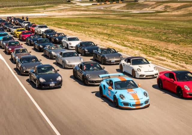 Porsche Takeover at Area 27 with August Motorcars - Track Day Video
