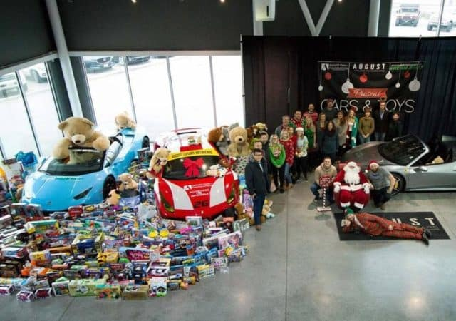 Cars & Toys 2018 at August Motorcars in Kelowna BC