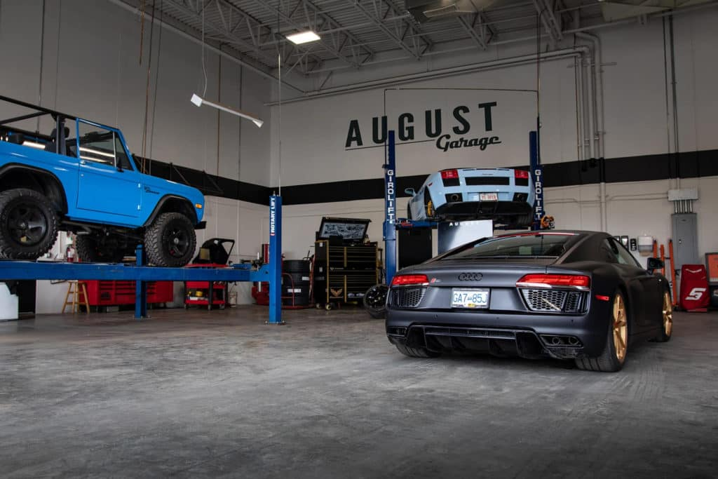 August Garage - Auto Service, Car Repairs, and Customization at August Motorcars in Kelowna BC