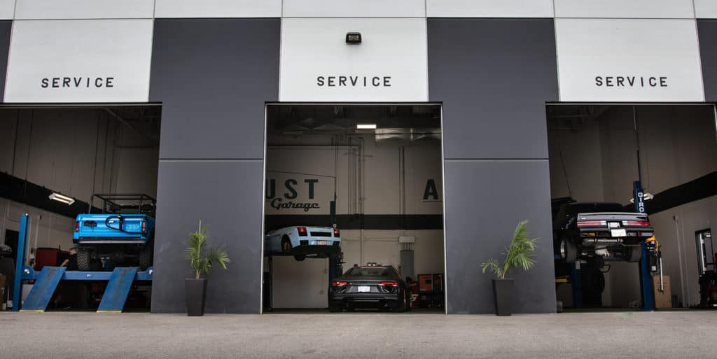 August Garage - Service Facility at August Motorcars in Kelowna BC is Now Open!