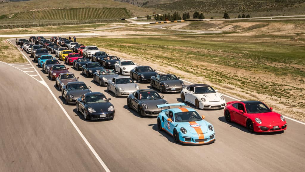 2020 Porsche Track Day with August Motorcars at Area 27