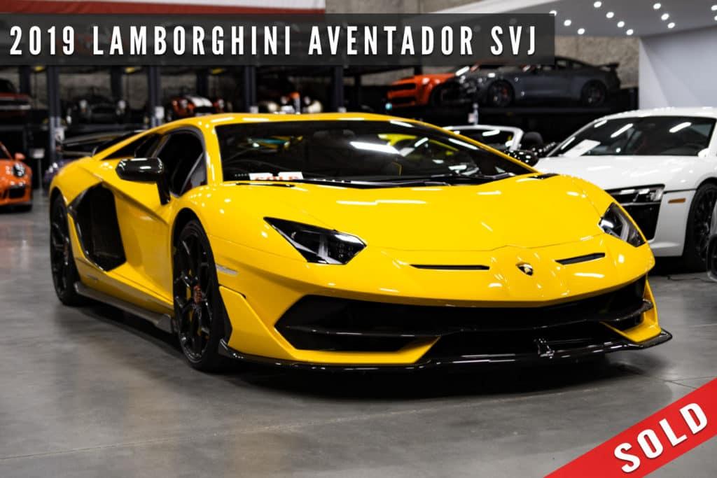 2019 Lamborghini Aventador SVJ Sold at August Motorcars - Daily Driven Exotics