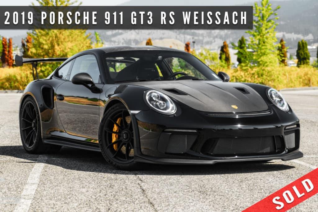 2019 Porsche 911 GT3 RS Weissach Sold at August Motorcars