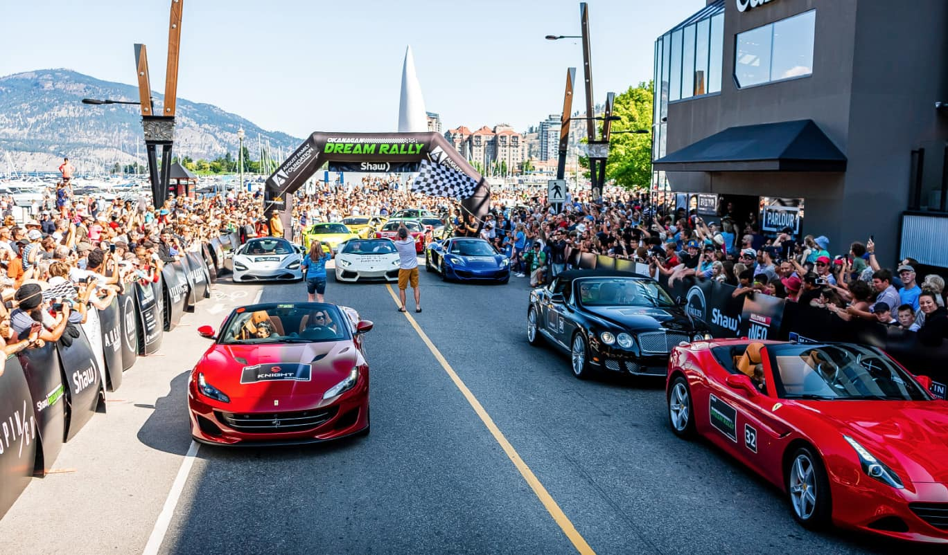 August Motorcars - Okanagan Dream Rally- Community Events in Kelowna