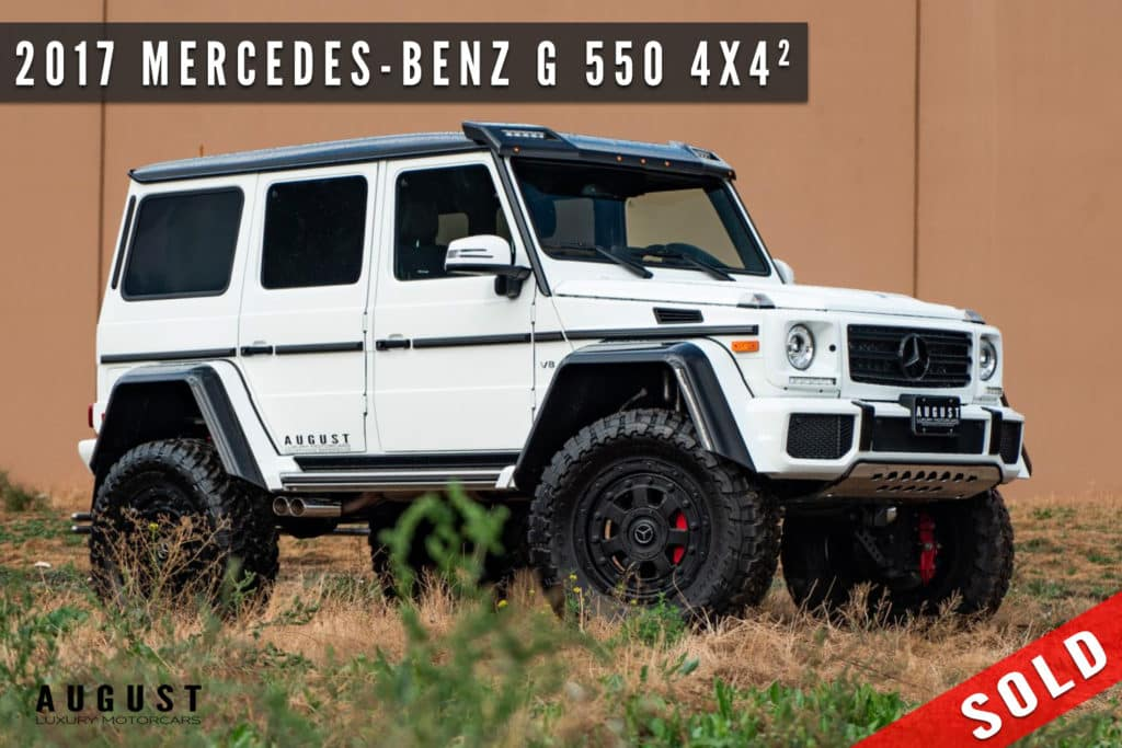 2017 Mercedes-Benz G-Class G 550 4x4 Squared Sold By August Motorcars