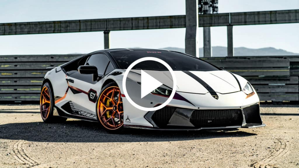 Modified Lamborghini Huracan Video - For Sale At August Motorcars