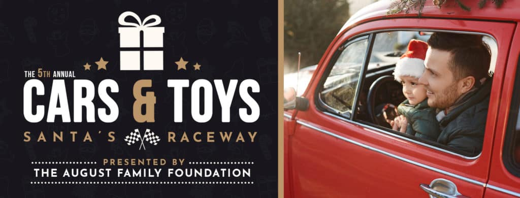 Cars & Toys 2020 at August Motorcars - Santa's Raceway