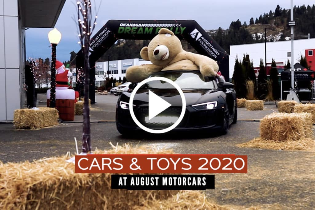 Cars & Toys 2020 at August Motorcars in Kelowna BC