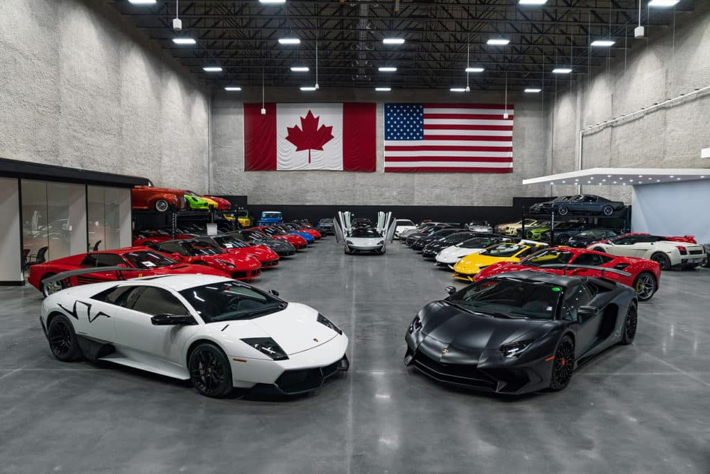 August Motorcars V2 Supercar Showroom