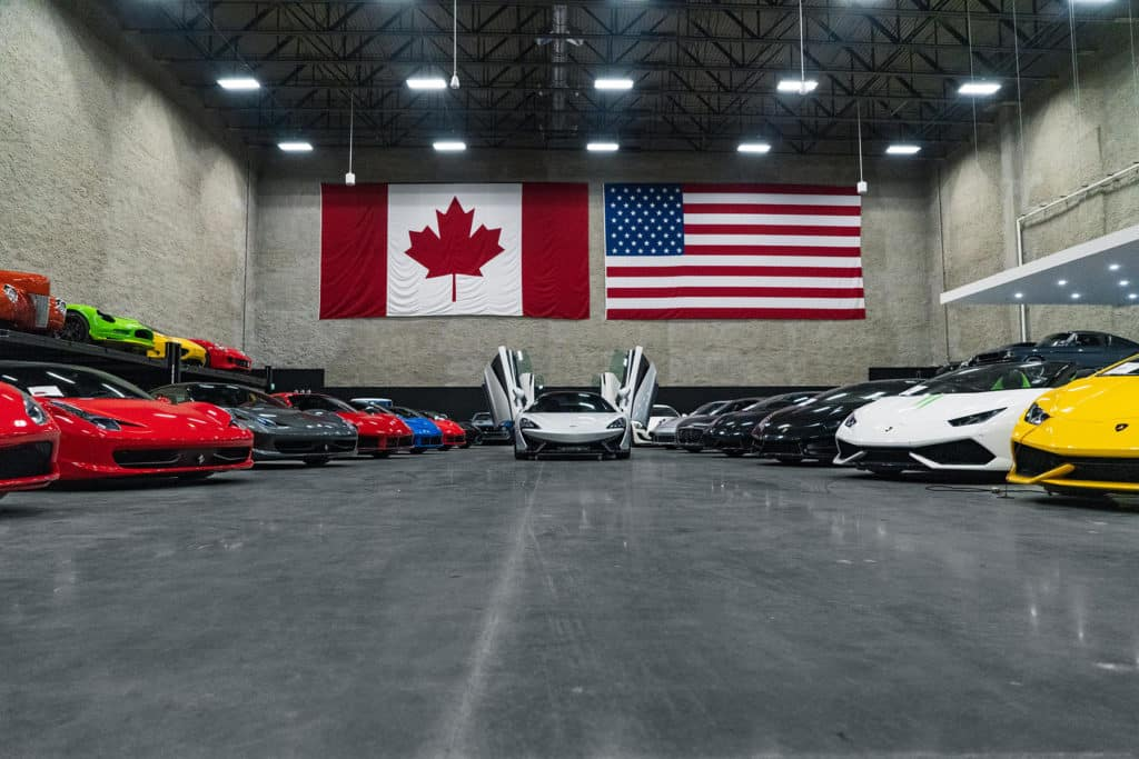 August Motorcars V2 Showroom - Luxury and Exotic Car Dealership in Canada