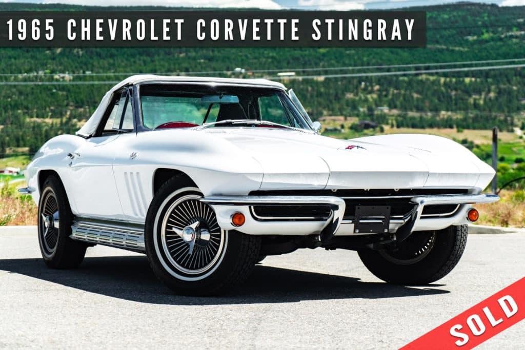 1965 Chevrolet Corvette Stingray Convertible Sold By August Motorcars